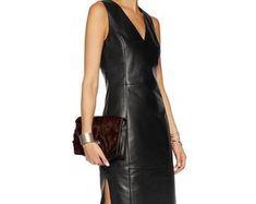 Etsy :: Jouw platform voor het kopen en verkopen van handgemaakte items Leather Jacket Dress, Bodycon Dress, Trending Outfits, Unique Jewelry, Jackets, Clothes, Vintage, Etsy, Dresses