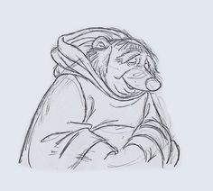 Pocket : Ken Anderson's Robin Hood Disney Sketches, Disney Drawings, Cartoon Drawings, Character Design Animation, Character Design References, Disney Lines, Character Model Sheet, 3d Character, Color Script