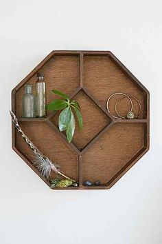 Griffin Display Shelf - Urban Outfitters - $39.00 - Want all 3 for a gallery wall.