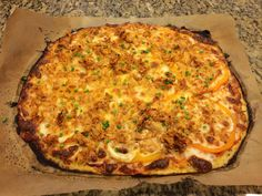 Try this delicious Spaghetti Squash Pizza Crust Medifast recipe. This is a lean and green recipe, which is compliant with the Take Shape For Life program.