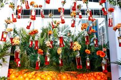 Aperol Spritz Summer Solstice: Aperol Spritz hosted its Summer Solstice party on June 22 at the Sabbia rooftop at Eataly in New York. Designed by creative and content production studio Swell, the party featured an installation of hanging bottles of the Italian aperitif that served as vases for orange flowers, including marigolds.