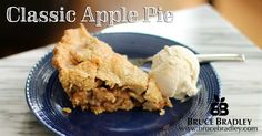 I don't eat dessert very often, but when I do, it's gotta be something I love. I'm a huge fan of pies … especially fruit pies. Perhaps it's because I think the fruit makes them a tiny bit healthier, but they're still SO VERY delicious…especially with a scoop of homemade vanilla ice cream. YUM!!! Apple …
