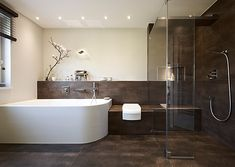 badezimmer mit warmen beige braunen nuancen gestalten bad pinterest badezimmer baden und. Black Bedroom Furniture Sets. Home Design Ideas