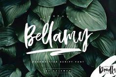Bellamy Script by Calamar on @creativemarket