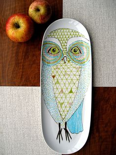 © Catherine Keher/PerDozen Design. Pinning to check the site later...looks lotsa owl stuff.