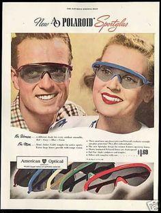 15012ca2fd american Optical Polaroid Sportglass Sunglasses (1946)