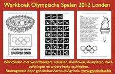 Werkbladenset voor kinderen van 4 t/m 12 jaar samengesteld naar aanleiding van de Olympische Spelen in Londen in 2012 door schoolgoochelaar Aarnoud Agricola.