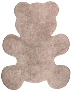 DECOILUZION - Alfombra infantil Little Teddy beige
