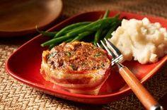 Make-Ahead Cheesy Bacon Mini Meatloaves Recipe - Kraft Recipes