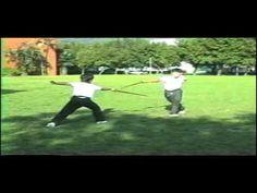 三才對劍 San CAI Sword Dual in 1987 instructed by Master Li Mao Ching - YouTube