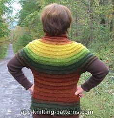 Ravelry: Project Gallery for Mountain Sunrise Short-Sleeved Sweater pattern by Elaine Phillips