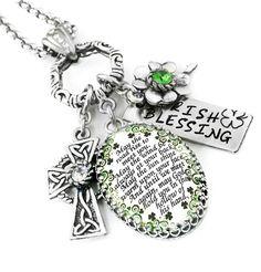 irish_blessing_green_necklace_pendant_celtic