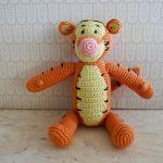 Tigerdyr hækleopskrift Crochet Animals, Crochet Toys, Crochet Baby, Knit Crochet, Chrochet, Yarn Projects, Knitting Projects, Loom Knitting, Baby Knitting