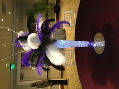 Here is a photo sent in to us by one of our wonderful customers. #ostrichfeathers, #wedding