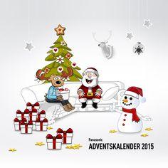 Panasonic Adventskalender - Traumhafte Technik hinter jedem Türchen - Spielen Sie mit uns um 24 tolle Tagespreise & einen Hauptgewinn!