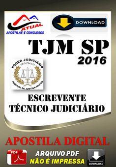 Concurso TJM SP Escrevente Tecnico Judiciario 2016