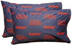 NCAA Mississippi Pillowcase