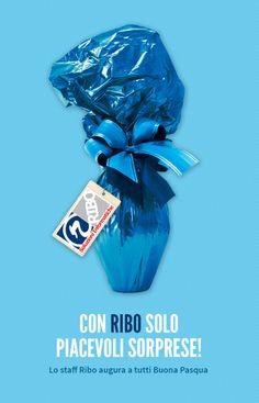 CON RIBO SOLO PIACEVOLI #SORPRESE! Lo staff Ribo augura a tutti Buona #Pasqua!  #HAPPYEASTER! #pasqua2014  Visita anche http://www.ribo.it/pub/con-ribo-solo-piacevoli-sorprese