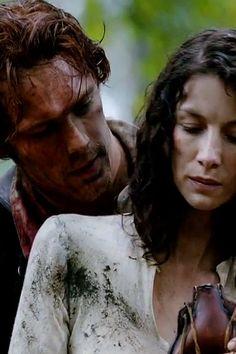 #Outlander Jamie & Claire Episode 1