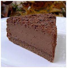 Gâteau mousse au chocolat Plus