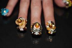 Autumn Couture 5D by BellaGemaNails
