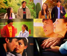 Clark & Lana #Smallville Clana is in no way my OTP, but they had their good moments early on.