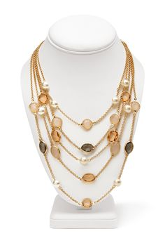 Luxe Layered Necklace #Accessories