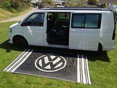 VW Style - Awning Mat - Ground Sheet - T25 T4 T5 Splitscreen Bay - 3m x 1.8m