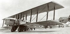 Commercial air travel began to take shape with planes like the Farman F60 Goliath