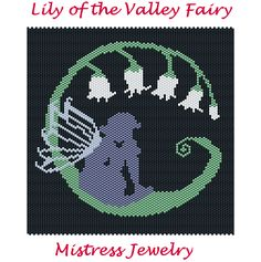 Lily of the Valley Fairy Map & Chart | Bead-Patterns