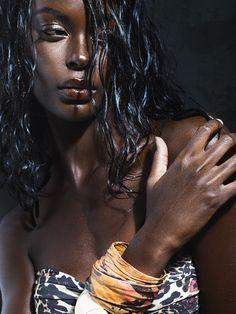 The gorgeous Rwandan-Canadian model, Happy... | Yagazie Emezi