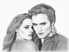 twilight saga drawing | related posts twilight fan art prom bella and edward fan art twilight ...