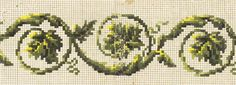 Embroidery Patterns Free, Hand Embroidery, Vintage Borders, Crochet Borders, Needlepoint, Needlework, Cross Stitch, Wool, Stitches