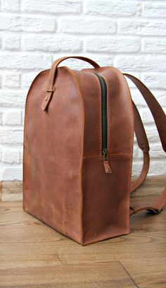 Leather backpack purse is a mini bag we offer in different color combinations…