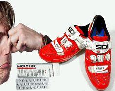 Kolarskie buty czyli śmierdzący problem