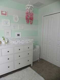 Image result for mint walls grey carpet