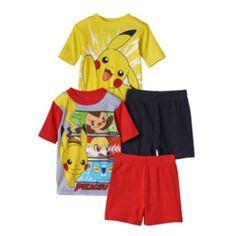 Pokemon 4-pc. Pajama Set - Boys 4-10