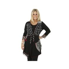 One O One Paris: Double Top Tunic, only on wildcurves.com!