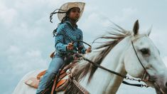 """""""I come from a place where black folks work the land, tend to animals, rope, ride horses, and identify as cowboys. This is a narrative rarely told by the media,"""" says photojournalist and designer Ivan McClellan, also known as @eightsecs on Instagram."""