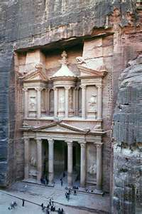 Petra. [Otherwise known as the Canyon of the Crescent Moon.]