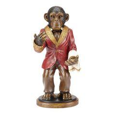 Winston the Monkey Wine Bottle Holder at Bombaycompany.com, $50 !!
