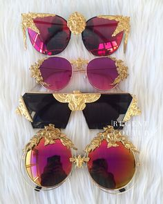 Regent Couture So f*king diva Sunglasses For Your Face Shape, Cute Sunglasses, Sunnies, Girls Sunglasses, Cute Jewelry, Jewelry Accessories, Fashion Accessories, Couture Accessories, Lunette Style