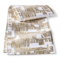 Oh Joy! Gold Printed Table Runner, really love this table runner. wonder if i could diy it.
