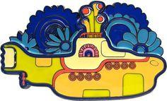 Beatles Yellow Submarine Belt Buckle 💕🛸 Bolo Dos Beatles, The Beatles, Beatles Party, Beatles Cake, Festa Yellow Submarine, Beatles Tattoos, The Fab Four, Hippie Art, Rock Crafts