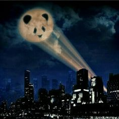 PandaMan comes to the rescue #hero