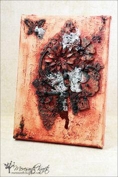 Meresanth Krafts: Blejtram z odpadków / Leftovers canvas
