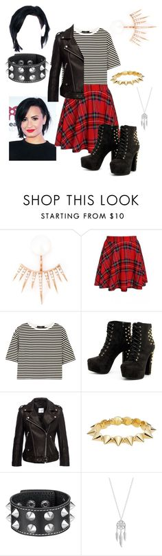 """""""Demi inspired"""" by loulou-246-xx ❤ liked on Polyvore featuring Dima, TIBI, Anine Bing, CC SKYE and Lucky Brand"""