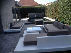 Lounge set Monte Carlo bezorgd in kortrijk