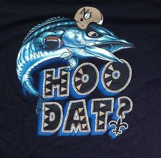 Small Hoo Dat Saints logo on the top-left of the shirt front; Large Hoo Dat design across the shirt back. preshrunk cotton black t-shirt by GILDAN. - from back of neck to hem. - from back of neck to hem. Football Love, Nfl Football, New Orleans Saints Football, Gold T Shirts, Mens Band Rings, Who Dat, Love T Shirt, Thanksgiving, Meme