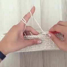 Você que Ama Crochê Aumente sua Renda em Até por Mês com Este Curso! Crochet Cable Stitch, Tunisian Crochet, Crochet Motif, Knit Crochet, Arm Knitting, Knitting Stitches, Crochet Basket Tutorial, Crochet Stars, Crochet Stitches Patterns